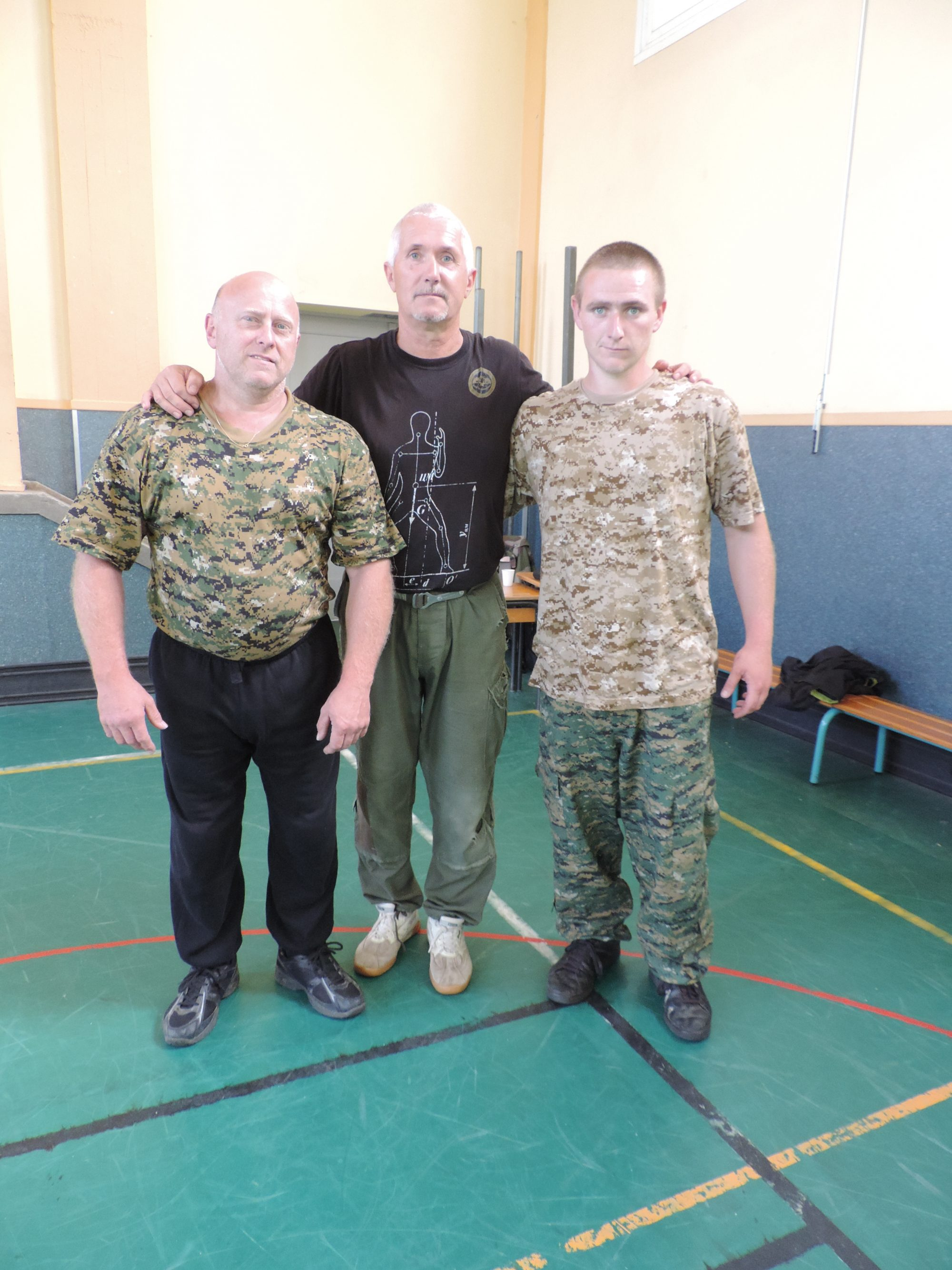 Initiation au Systema Kadochnikov 02/10/2016