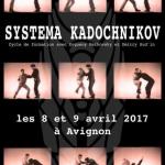 Stage à Avignon le 08 et 09 avril 2017