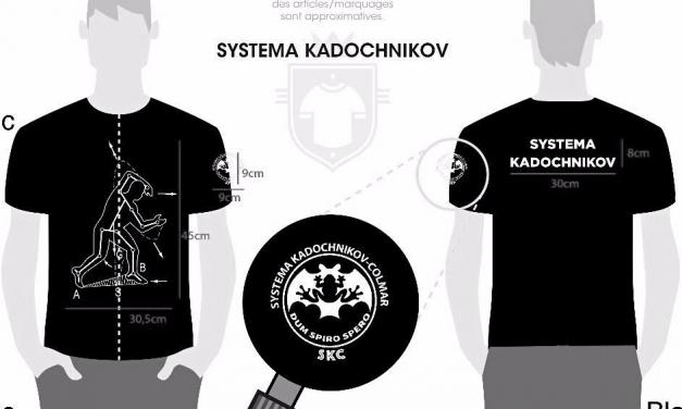 T-SHIRT SYSTEMA KADOCHNIKOV COLMAR