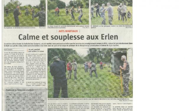 Journal L'Alsace du 17 juillet 2015