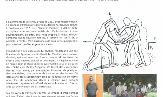 Pratique Martiale 2013