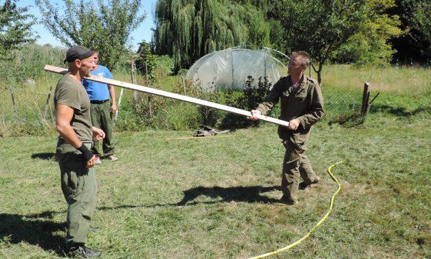 Biomécanique du combat réel : retour sur le stage d'été 2018
