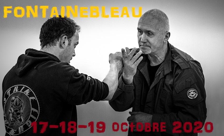 Stage à Fontainebleau du 17 au 19 octobre 2020